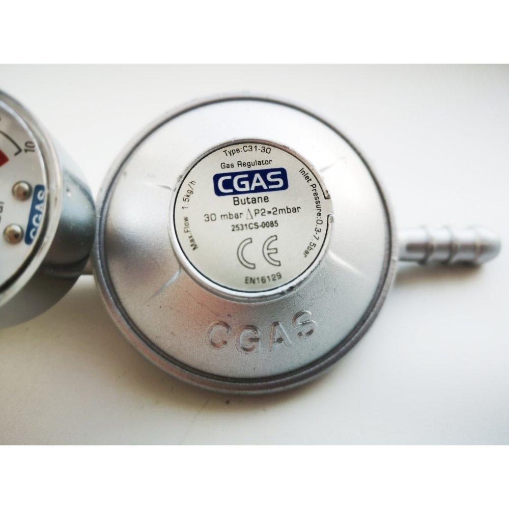Редуктор пропановый низкого давления с монометром.