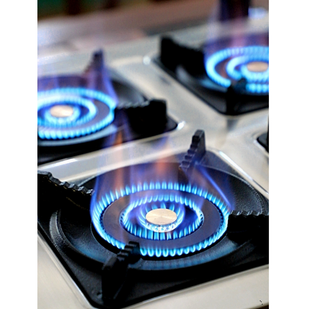 Настольная газовая плита 4-х конфорочная.