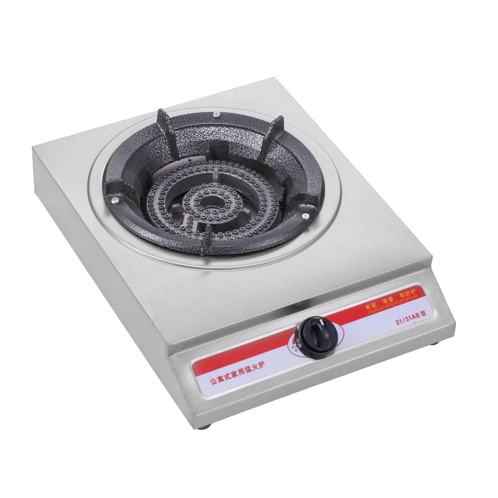 Профессиональная настольная газовая плита с 1 конфоркой.