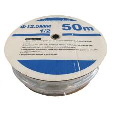 Шланг поливочный ПВХ, прозрачный. Серия В-01, ф-12,5 мм. 50 м.