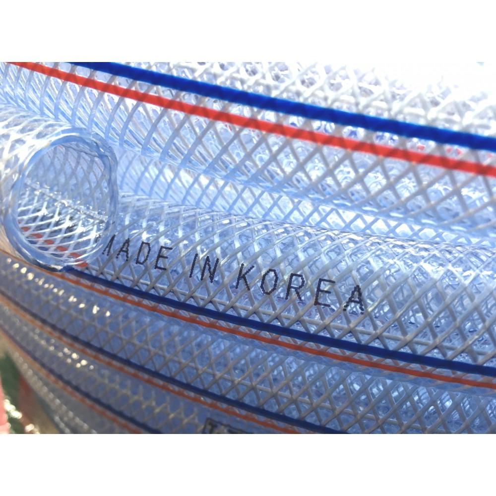 Шланг поливочный ПВХ,  прозрачный. Серия В-01, ф-16 мм. 30 м.
