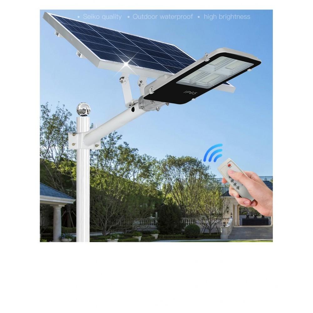 Светильник  на солнечной батареи с пультом ДУ.